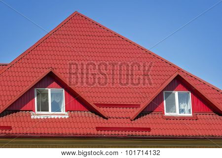 Red Slated Roofing