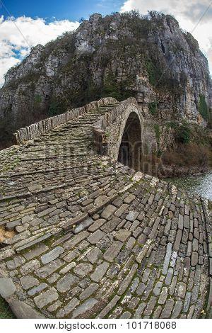 Kokoris Stone Bridge, Zagorohoria, Greece