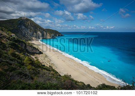 Milos Beach, Levkada, Ionian Islands, Greece