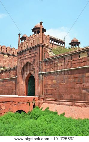 Red Fort (Lal Qila). World Heritage Site. Delhi, India