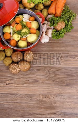 Casserole With Organic Vegetables