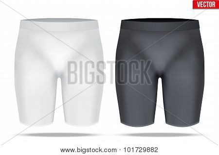 Under layer compression trousers of thermo fabric.