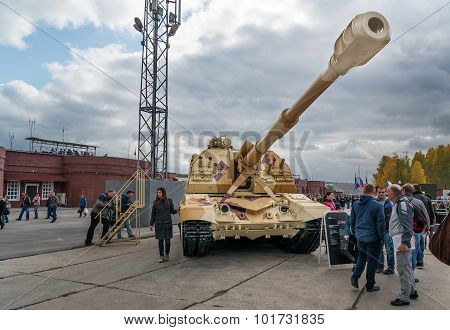 The 2S19M2 Msta-s. Self-propelled 152 Mm Howitzer