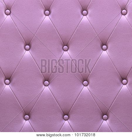Pattern Of Violet Leather Seat Upholstery