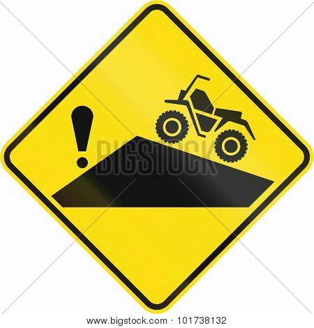 Hazard Behind Blindhead For Atvs In Canada