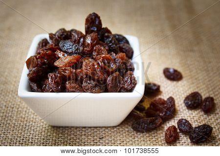 Raisins.