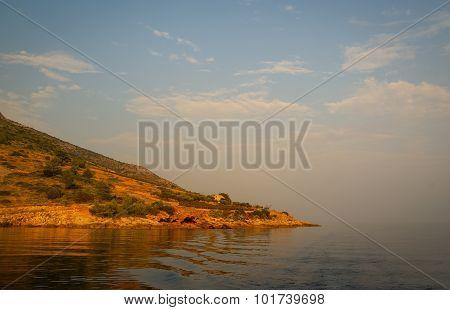 Sunset At Bol, Brac, Croatia