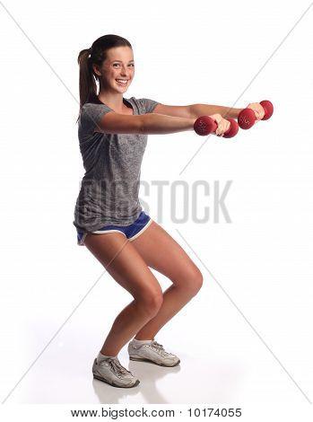 Fitness teen