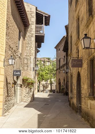 Poble Espanyol - Street