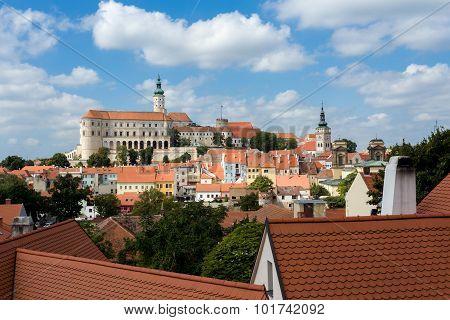 Mikulov Town, South Moravia, Czech Republic