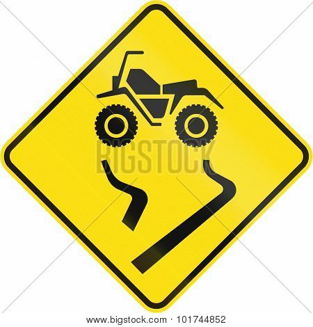 Slip Danger For Atvs In Canada