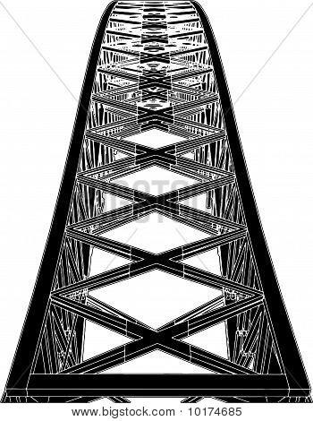 Arch Bridge Steel Structure