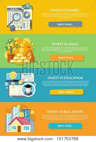 Concept of Investment in Education Gold Property