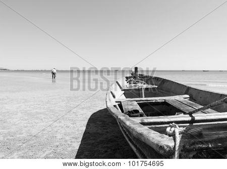 Hua Hin Beach  And Boat
