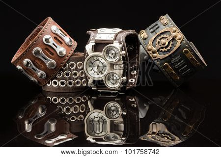 unusual watches. several alternatives dials