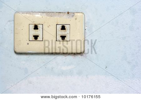 Old Plug Socket