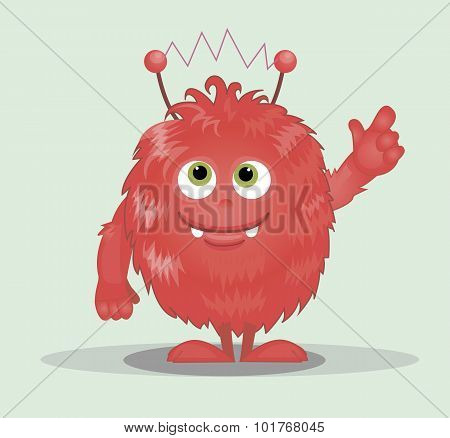 Good Red Furry Monsters