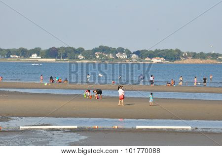 Silver Sands State Park in Milford, Connecticut