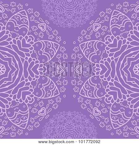Ornamental half round lace pattern, circle background, crocheting handmade lace, lacy arabesque desi