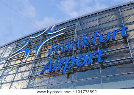 Frankfurt International Airport Logo