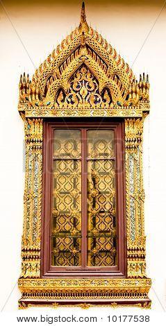 Oriental Door Frame