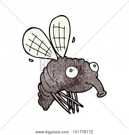 gross cartoon fly