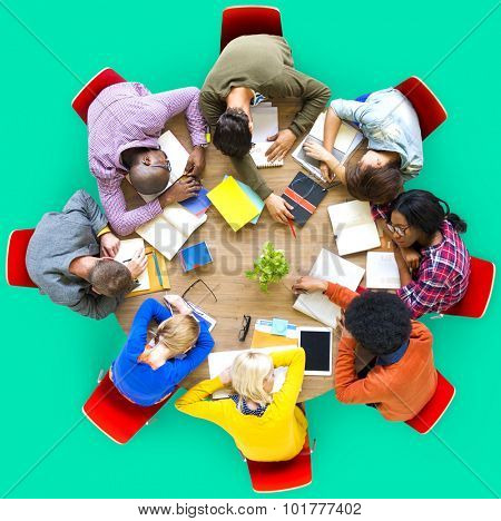 Diverse People Sleepy Nap Togetherness Concept