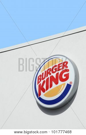 Logo of the fast food chain Burger King