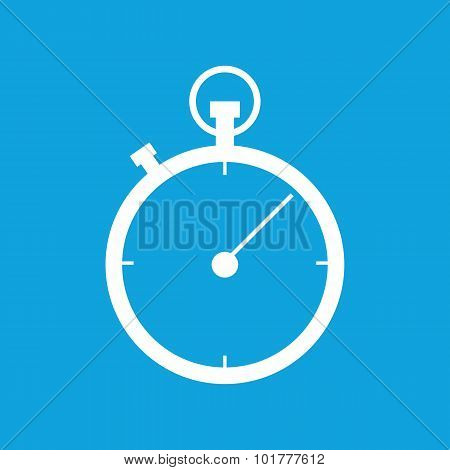 Stopwatch icon 2, simple