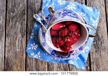 Confiture Made Of Dogwood