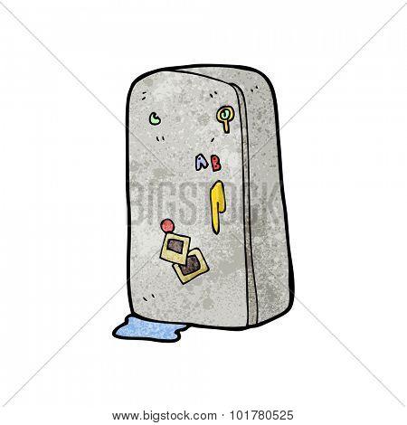 cartoon refrigerator