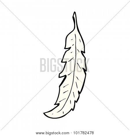 cartoon feather