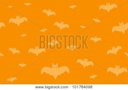 Halloween vector background seamless pattern