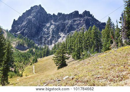 Three Fingered Jack Mountain