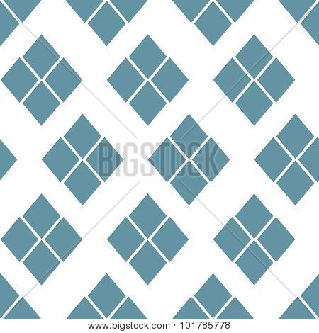 Abstract seamless geometric pattern. Monochrome vector illustration can be copied without any seams