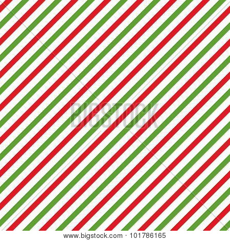 Simple retro geometric  Christmas pattern. Traditional colors. New Year theme.