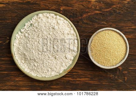 Amaranth Seeds And Amaranth Flour