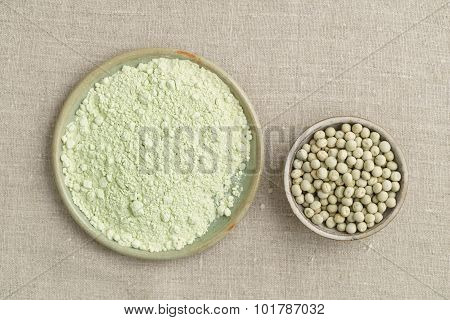 Green Peas And Pea Flour