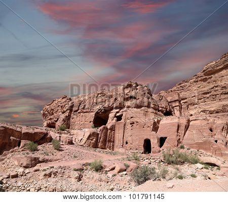 Petra, Jordan-- It Is A Symbol Of Jordan, As Well As Jordan's Most-visited Tourist Attraction. Petra