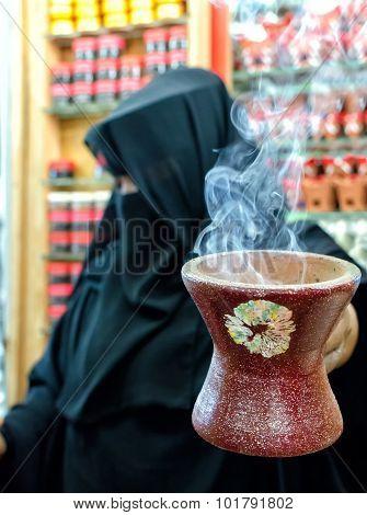 Selling Frankincense, Salalah