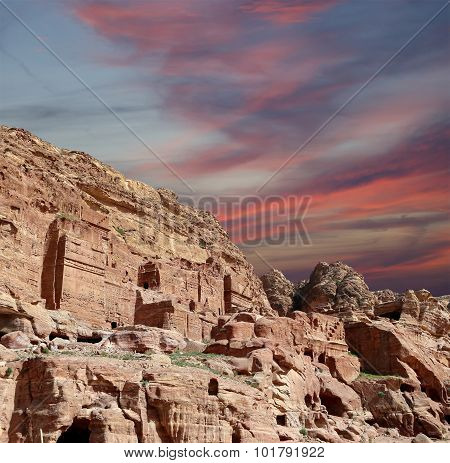 Petra, Jordan-- It Is A Symbol Of Jordan, As Well As Jordan's Most-visited Tourist Attraction. Petra