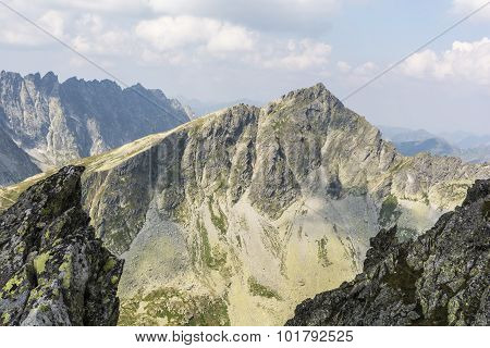 Summit Koprowy Wierch (koprovsky Stit) In Slovakia
