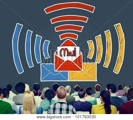Email Message Inbox Letter Communication Concept