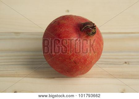 Pomegranate Red Healthy Antioxident Closeup Agriculture Fruit