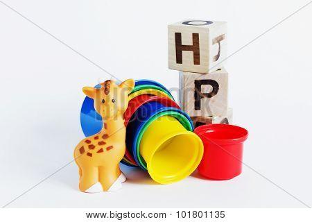 Children Colored Plastic Cups