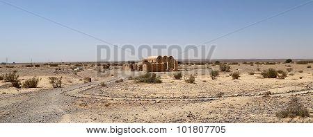 Quseir (Qasr) Amra desert castle near Amman Jordan