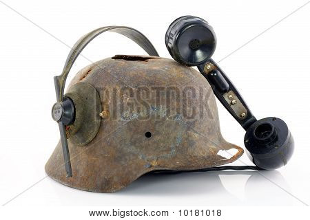 Protective Helmet And Handset