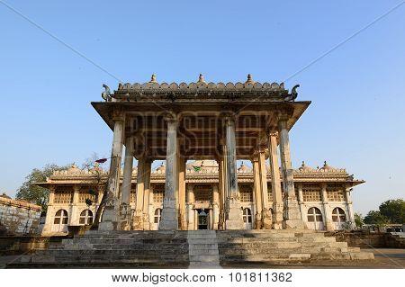 Jama Masijd Mosque In Complex Sarkhej Roza In India