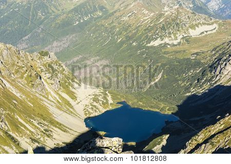 Pond - Nizni Ciemnosmreczynski Staw (nizne Temnosmrecinske Pleso, Nizne Smrecinske Pleso)