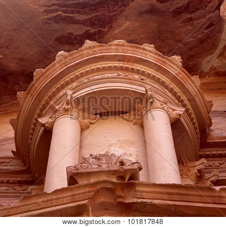 Al Khazneh or The Treasury at Petra, Jordan